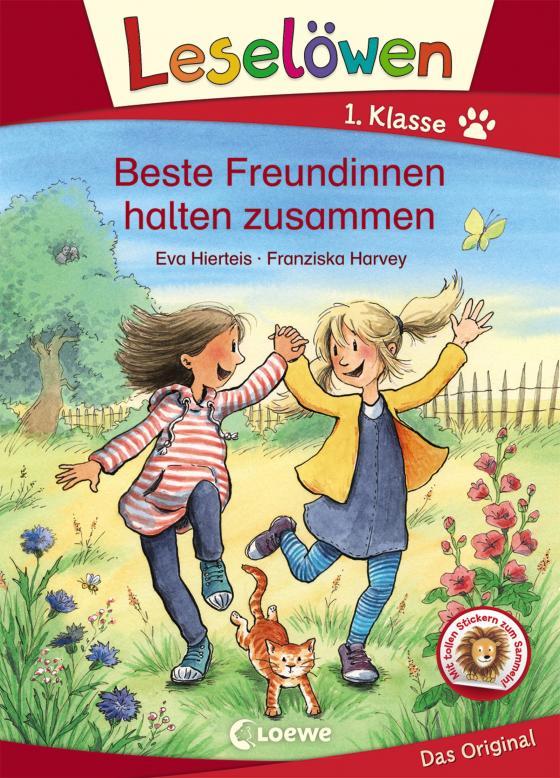 Cover-Bild Leselöwen 1. Klasse - Beste Freundinnen halten zusammen