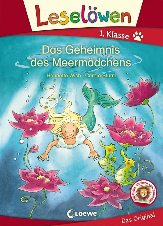 Cover-Bild Leselöwen 1. Klasse - Das Geheimnis des Meermädchens