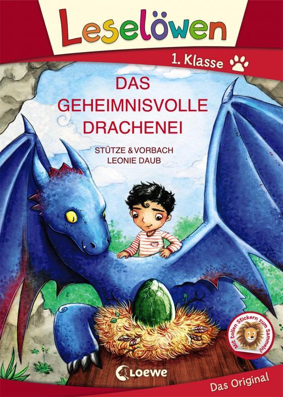 Cover-Bild Leselöwen 1. Klasse - Das geheimnisvolle Drachenei