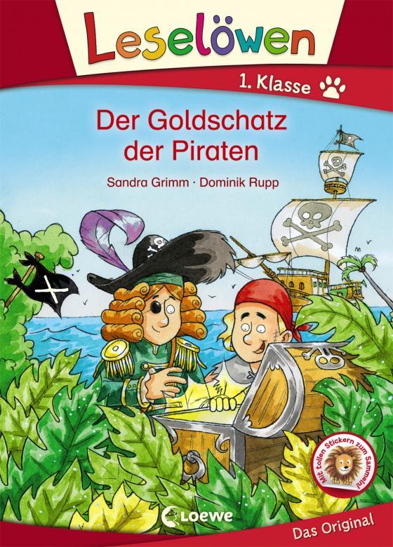 Cover-Bild Leselöwen 1. Klasse - Der Goldschatz der Piraten