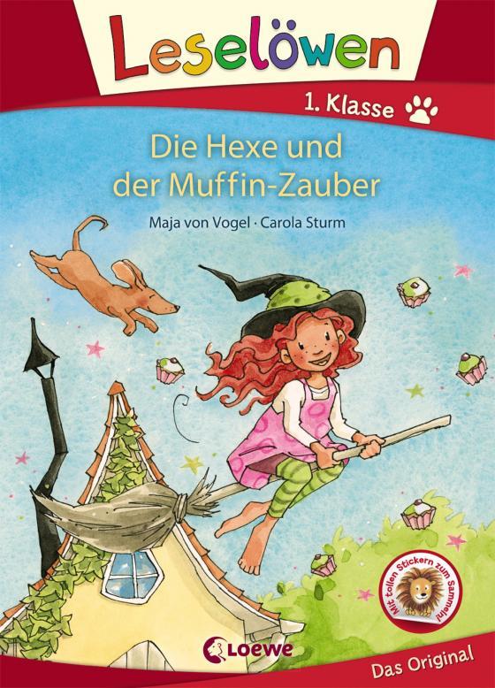 Cover-Bild Leselöwen 1. Klasse - Die Hexe und der Muffin-Zauber