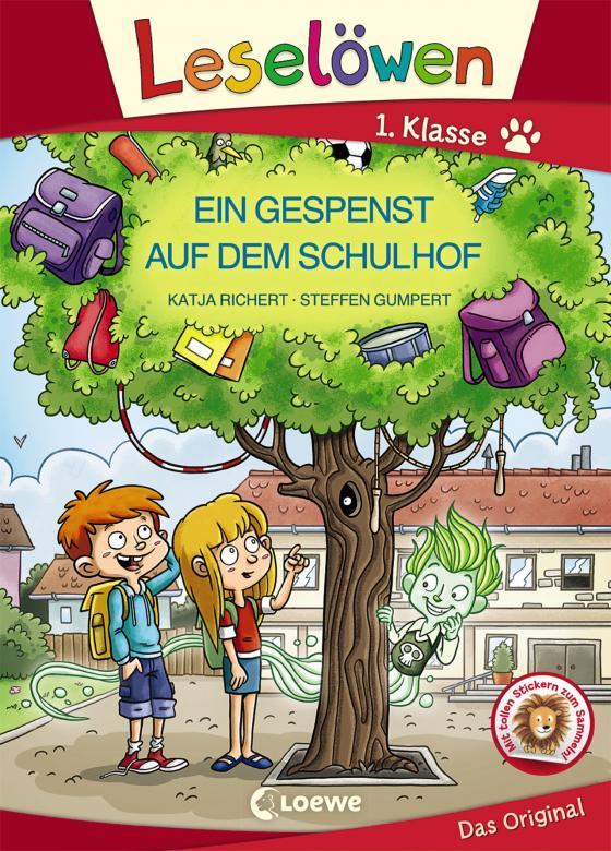 Cover-Bild Leselöwen 1. Klasse - Ein Gespenst auf dem Schulhof