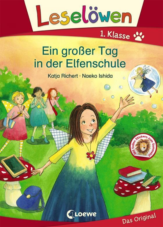 Cover-Bild Leselöwen 1. Klasse - Ein großer Tag in der Elfenschule