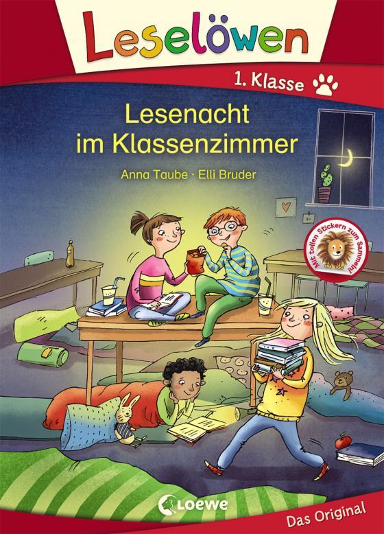 Cover-Bild Leselöwen 1. Klasse - Lesenacht im Klassenzimmer