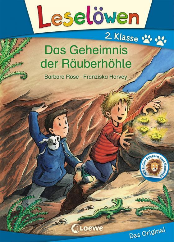Cover-Bild Leselöwen 2. Klasse - Das Geheimnis der Räuberhöhle
