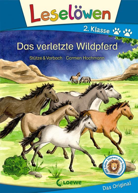 Cover-Bild Leselöwen 2. Klasse - Das verletzte Wildpferd