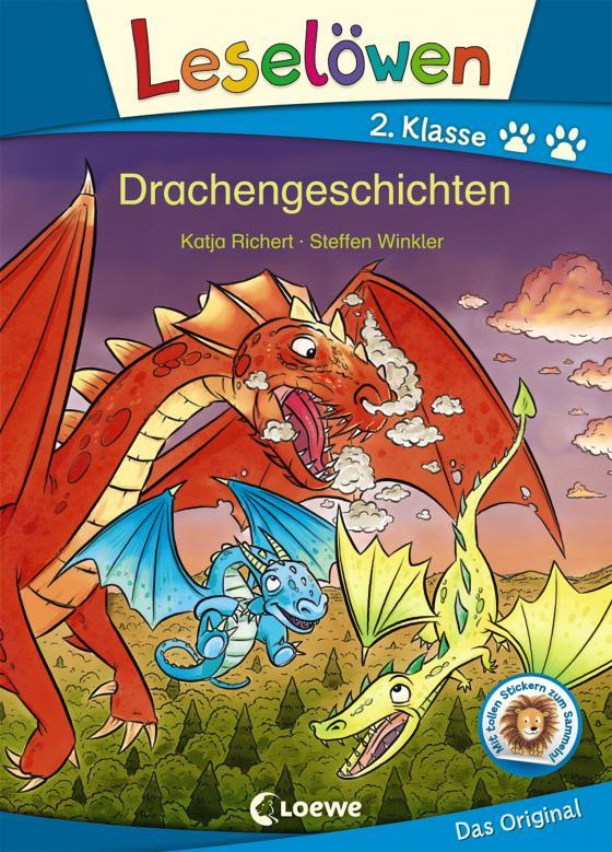 Cover-Bild Leselöwen 2. Klasse - Drachengeschichten