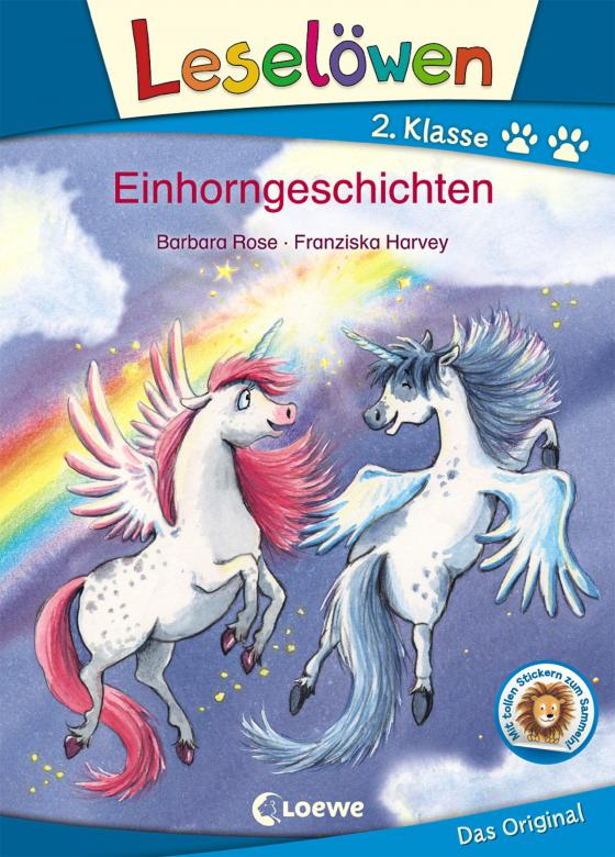 Cover-Bild Leselöwen 2. Klasse - Einhorngeschichten
