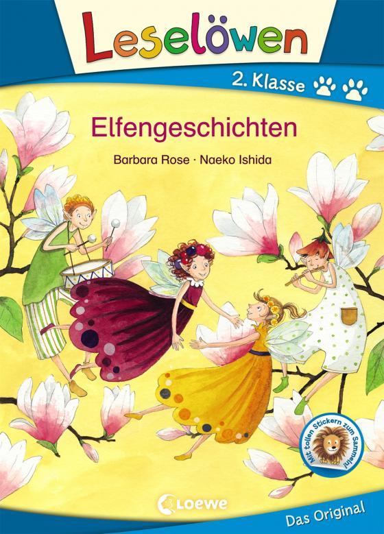 Cover-Bild Leselöwen 2. Klasse - Elfengeschichten