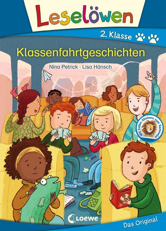 Cover-Bild Leselöwen 2. Klasse - Klassenfahrtgeschichten