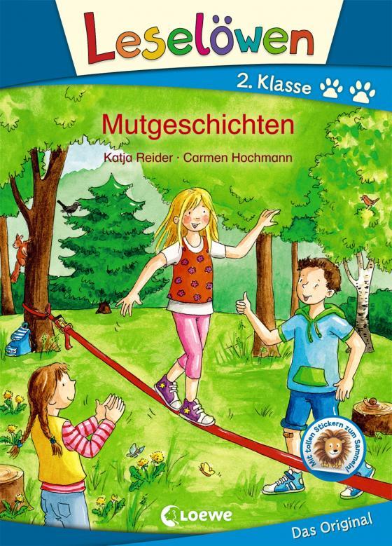 Cover-Bild Leselöwen 2. Klasse - Mutgeschichten