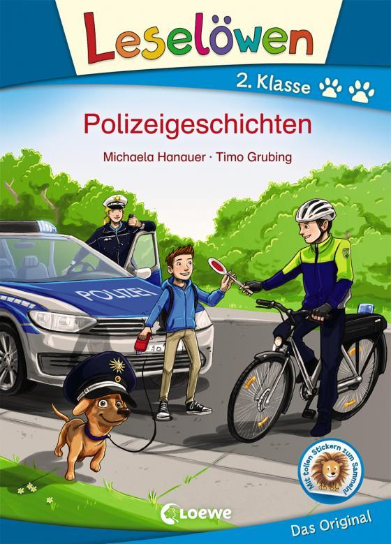 Cover-Bild Leselöwen 2. Klasse - Polizeigeschichten