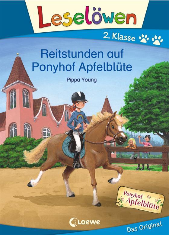 Cover-Bild Leselöwen 2. Klasse - Reitstunden auf Ponyhof Apfelblüte