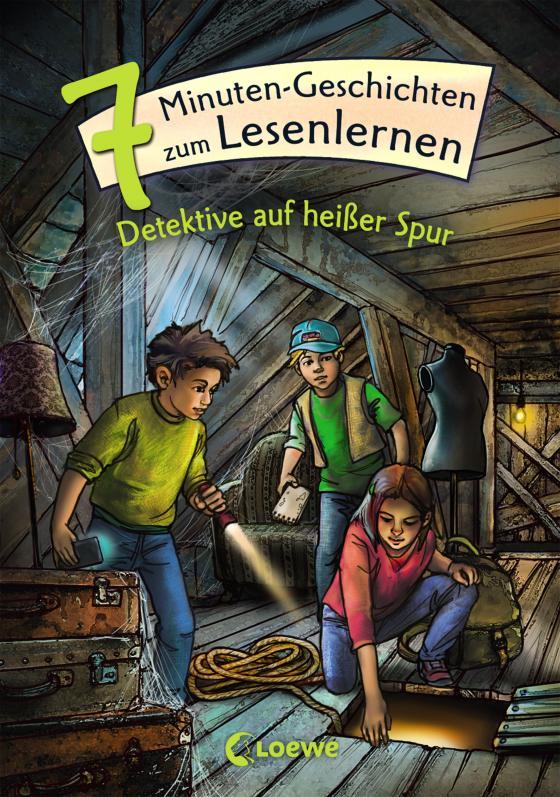 Cover-Bild Leselöwen - Das Original - 7-Minuten-Geschichten zum Lesenlernen - Detektive auf heißer Spur