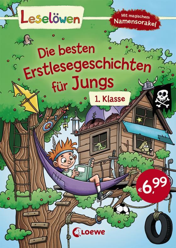Cover-Bild Leselöwen - Die besten Erstlesegeschichten für Jungs 1. Klasse