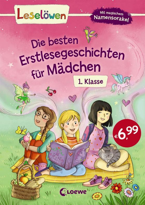 Cover-Bild Leselöwen - Die besten Erstlesegeschichten für Mädchen 1. Klasse