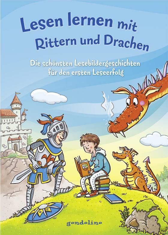 Cover-Bild Lesen lernen mit Rittern und Drachen