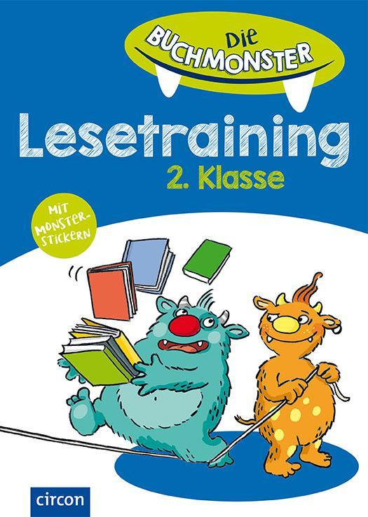 Cover-Bild Lesetraining 2. Klasse