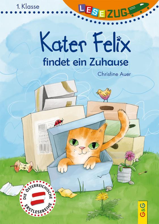 Cover-Bild LESEZUG/1. Klasse: Kater Felix findet ein Zuhause