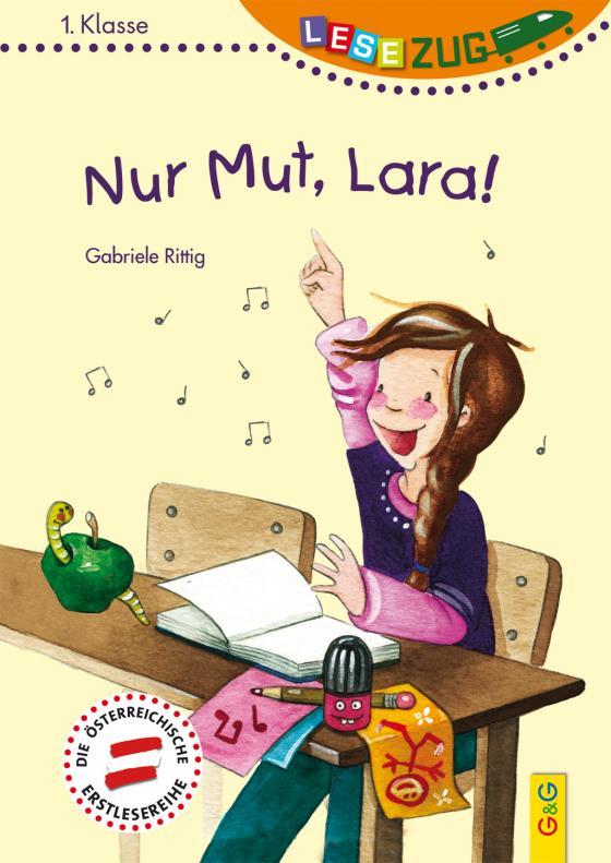 Cover-Bild LESEZUG/1. Klasse: Nur Mut, Lara!