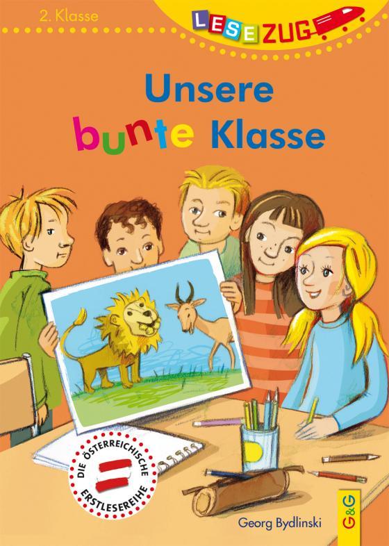 Cover-Bild LESEZUG/2. Klasse: Unsere bunte Klasse