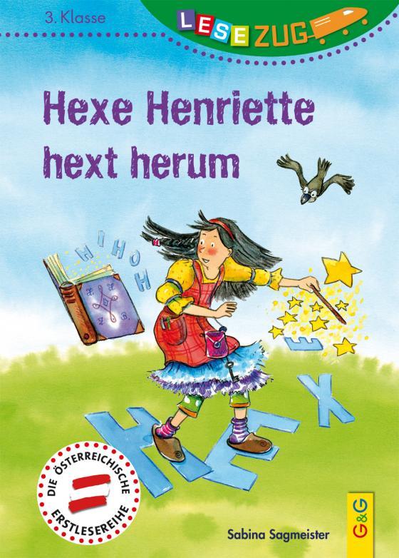 Cover-Bild LESEZUG/3. Klasse: Hexe Henriette hext herum