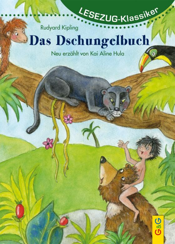Cover-Bild LESEZUG/Klassiker: Das Dschungelbuch