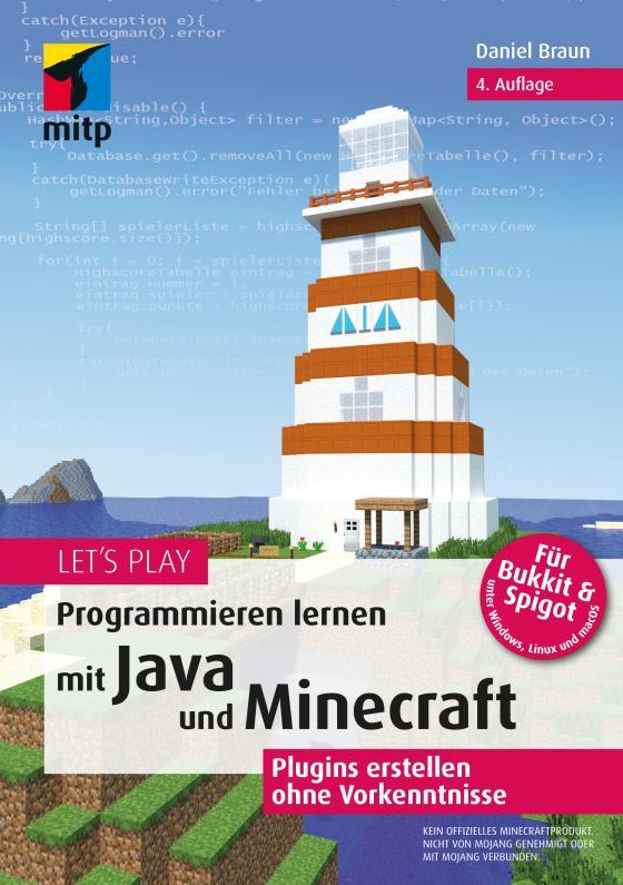 Cover-Bild Let's Play.Programmieren lernen mit Java und Minecraft