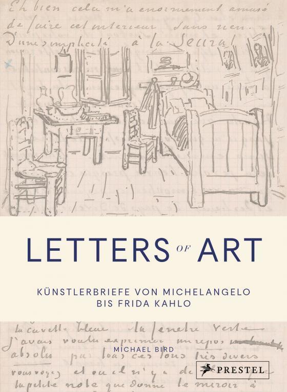 Cover-Bild Letters of Art: Künstlerbriefe von Michelangelo bis Frida Kahlo