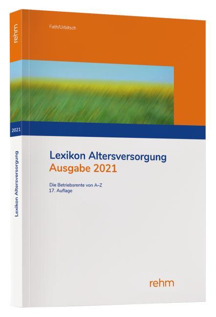 Cover-Bild Lexikon Altersversorgung 2021