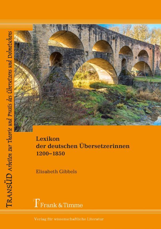 Cover-Bild Lexikon der deutschen Übersetzerinnen 1200–1850