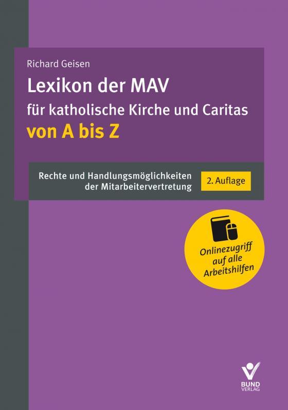 Cover-Bild Lexikon der MAV für katholische Kirche und Caritas von A bis Z