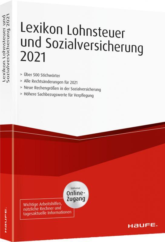 Lexikon Lohnsteuer und Sozialversicherung 2021 - inkl ...