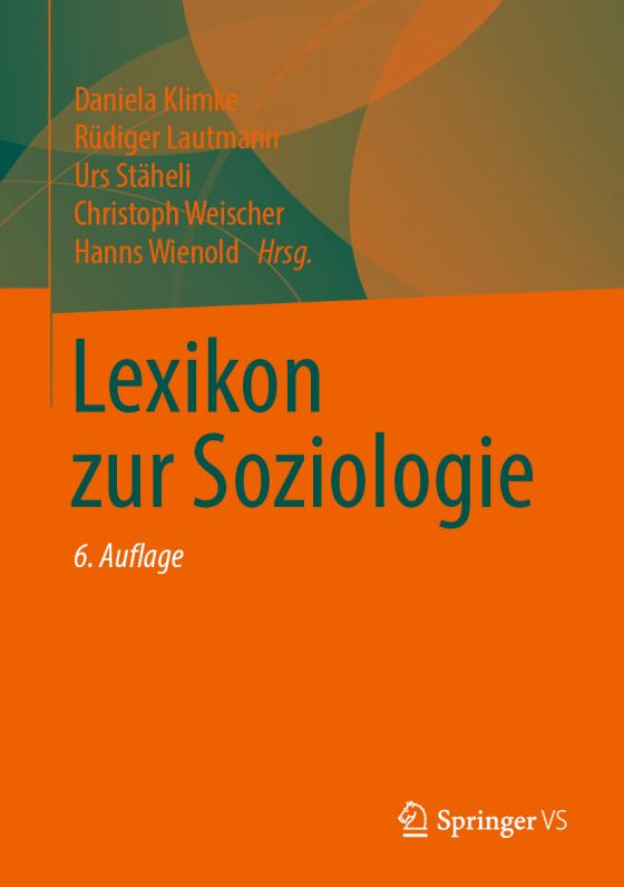 Lexikon zur Soziologie   Lesejury