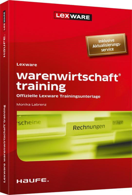 Cover-Bild Lexware warenwirtschaft® training