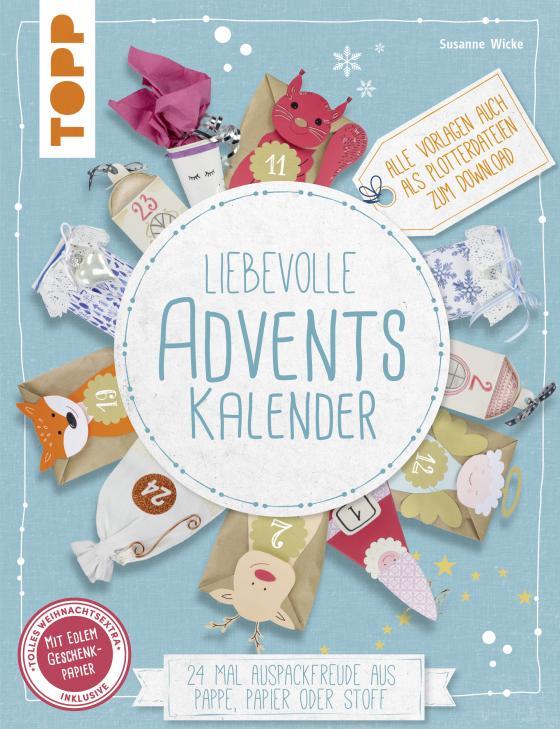 Cover-Bild Liebevolle Adventskalender (kreativ.kompakt)
