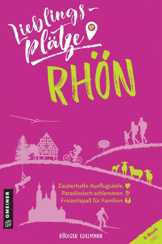 Cover-Bild Lieblingsplätze Rhön