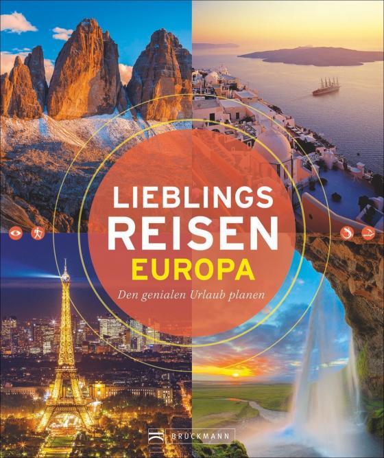 Cover-Bild Lieblingsreisen Europa