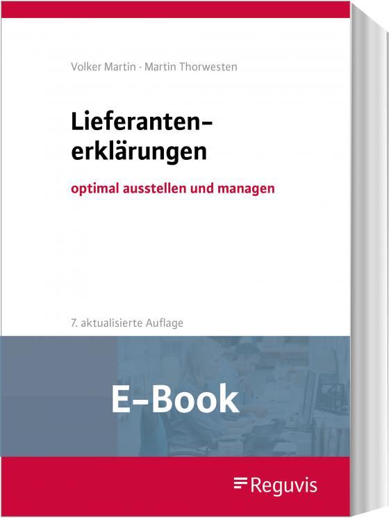 Cover-Bild Lieferantenerklärungen (E-Book)