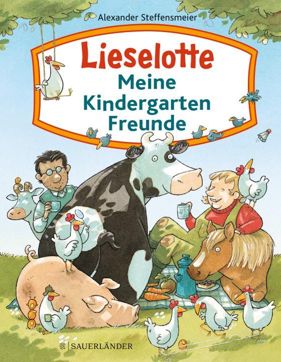 Cover-Bild Lieselotte – Meine Kindergartenfreunde