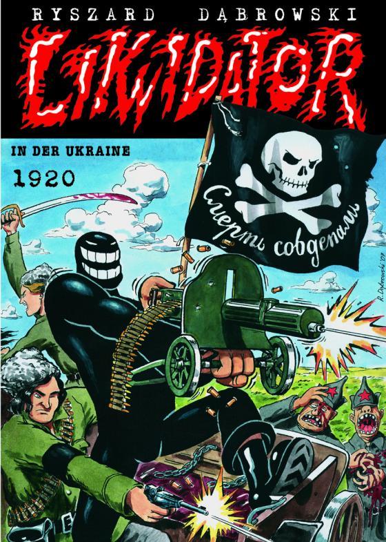 Cover-Bild Likwidator in der Ukraine 1920