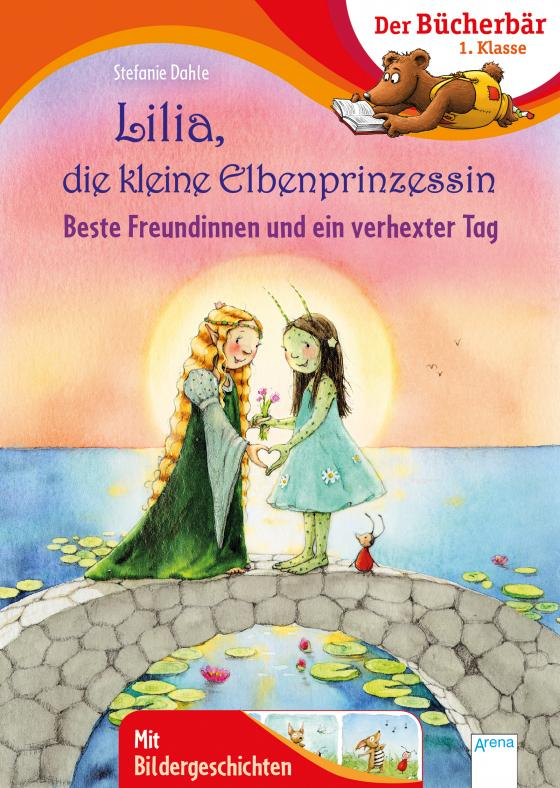 Cover-Bild Lilia, die kleine Elbenprinzessin. Beste Freundinnen und ein verhexter Tag