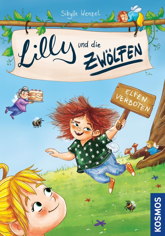 Cover-Bild Lilly und die Zwölfen, 1, Elfen verboten