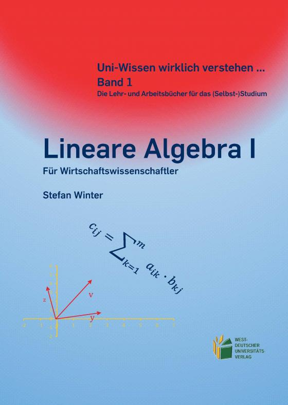 Cover-Bild Lineare Algebra I