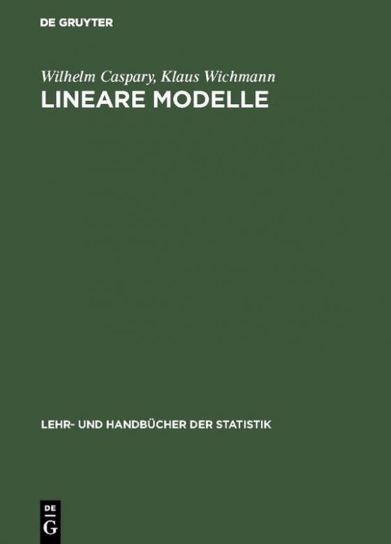 Cover-Bild Lineare Modelle