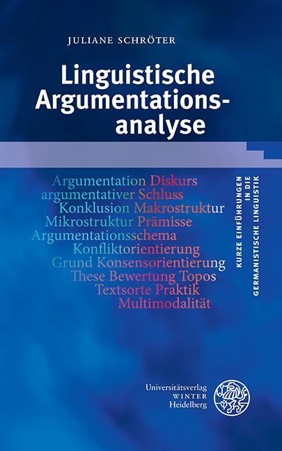 Cover-Bild Linguistische Argumentationsanalyse