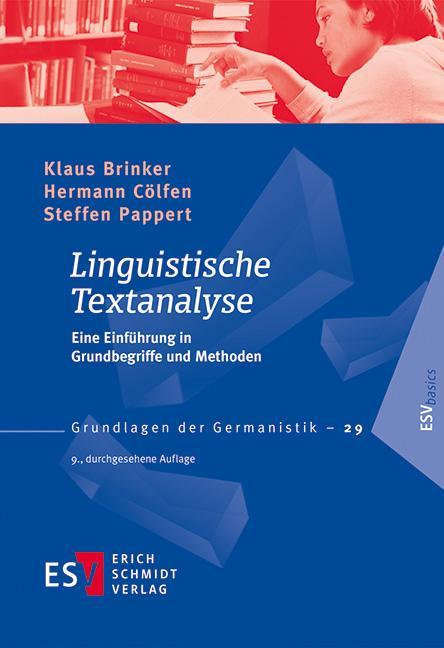 Cover-Bild Linguistische Textanalyse