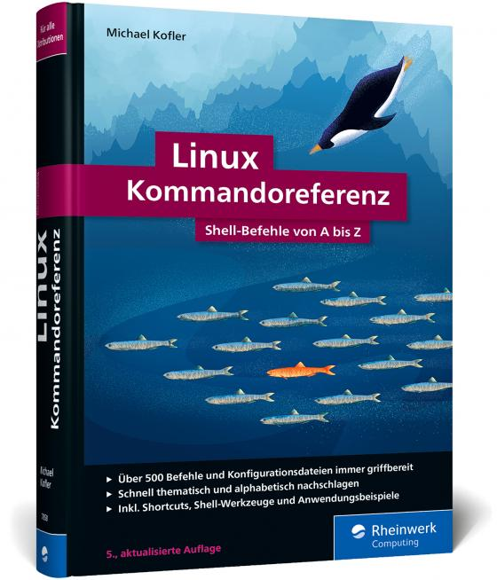 Cover-Bild Linux Kommandoreferenz