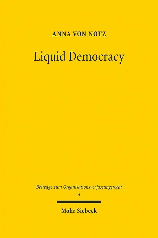 Cover-Bild Liquid Democracy