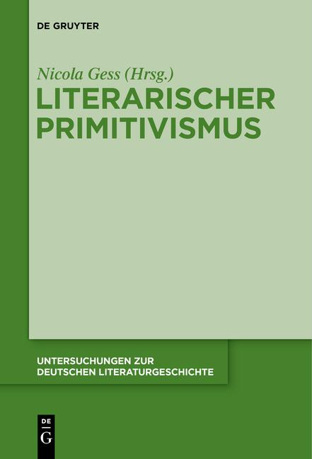 Cover-Bild Literarischer Primitivismus